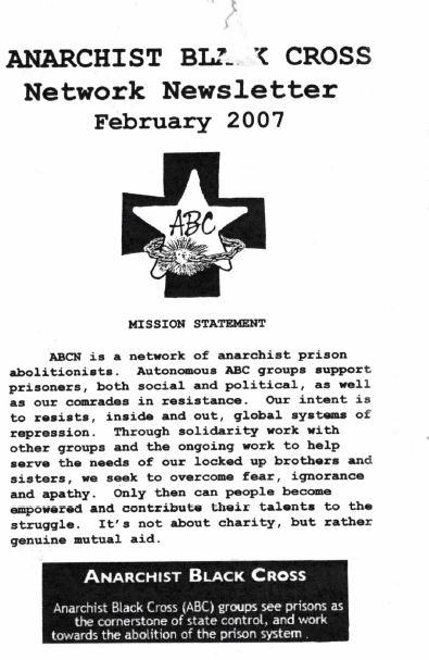 Anarchist Black Cross Network Newsletter