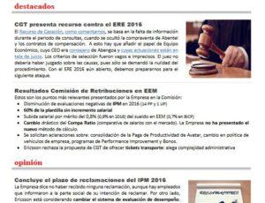 Ericsson en Rojo y Negro