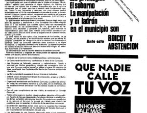 Hoja Informativa CNT-AIT Barcelona